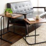 ネストテーブル サイドテーブル・ナイトテーブル・ローテーブル 【2個セット】