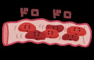 血管どろどろ血イラスト