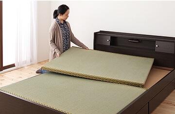 畳ベッドの設置イメージ