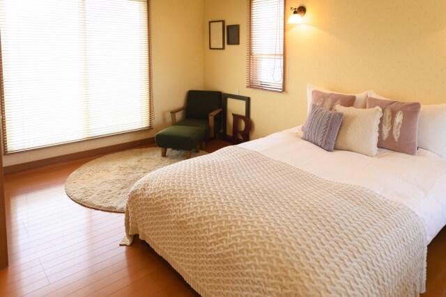 理想的なベッドルーム