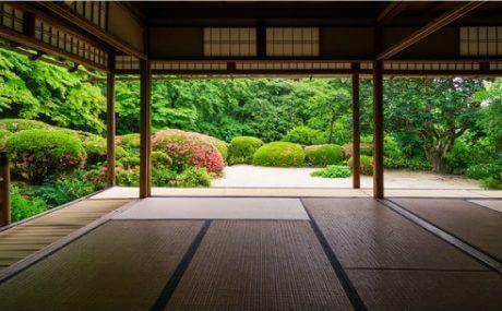 日本家屋 畳の間