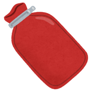 水枕のイラスト