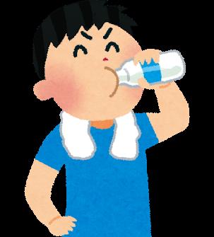 牛乳を飲む人イラスト