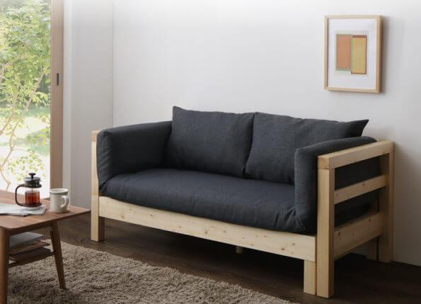 エグジーのソファ形態