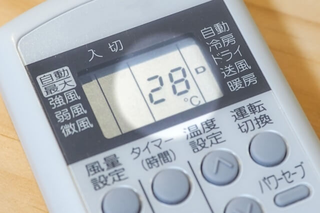 エアコンのタイマー