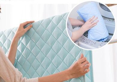 洗濯可能な冷感寝具