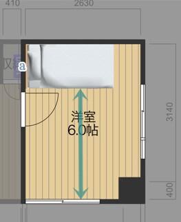ベッドの配置図_2