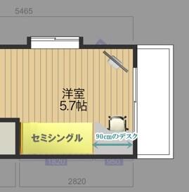 ベッド配置図面_13