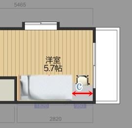 ベッド配置図面_12