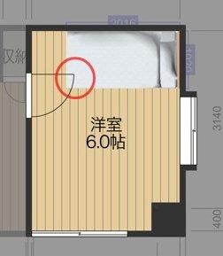 ベッドの配置図_4