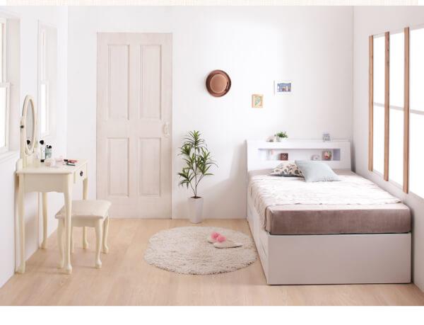 シングルベッドの設置イメージ