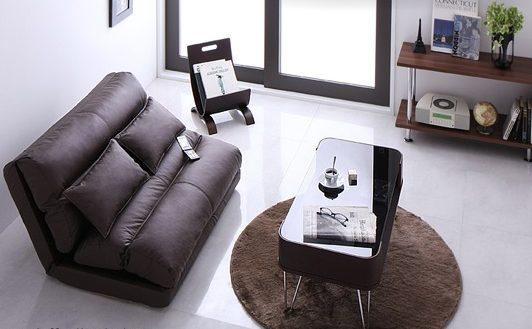 ソファベッドのソファ形状