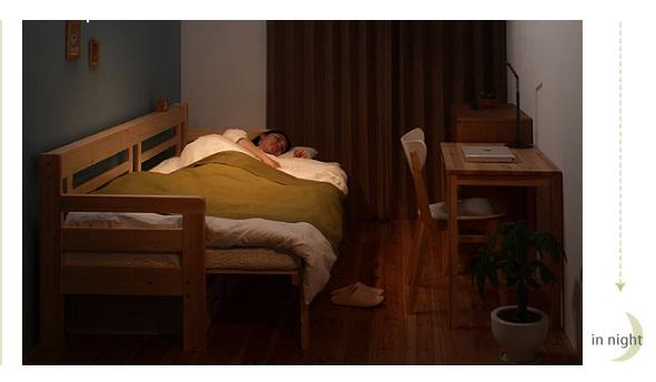 狭い部屋を有効活用できるソファベッド