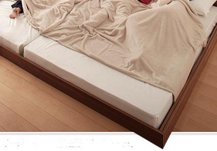 フレームインタイプのベッド