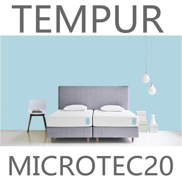 マイクロテック20 マットレス TEMPUR (テンピュール) 7年保証 かため 厚さ20cm