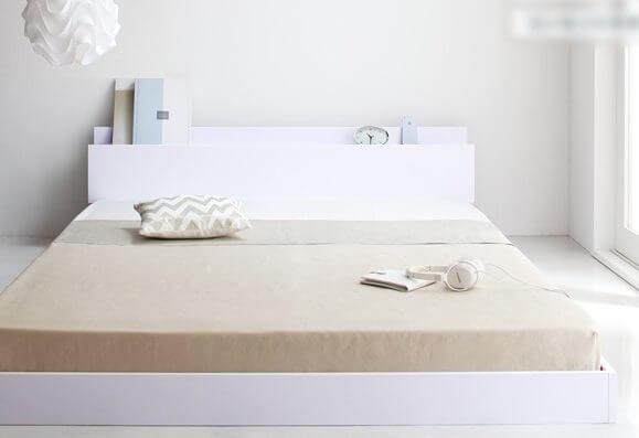 白いベッド アイディール