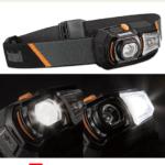 LEDヘッドライト レッドハロー/ロックアウト機能 ブッシュネル 【日本正規品】 ルビコン150