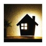 【2個セット】 WOODY WALL LIGHT/LED照明 【1 HOUSE】 音感センサー内蔵 自動消灯