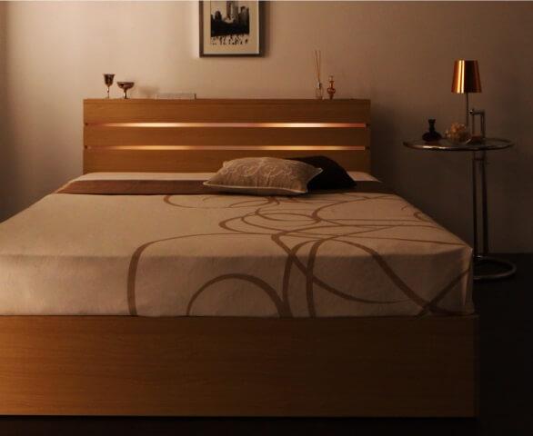 ダブルリネア ベッド