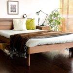 こんな商品ネットで見つけました♪②おすすめのスノコ仕様木製ベッド