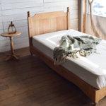 カントリー調の天然木パイン材ベッド【Kalevara】カレヴァラ